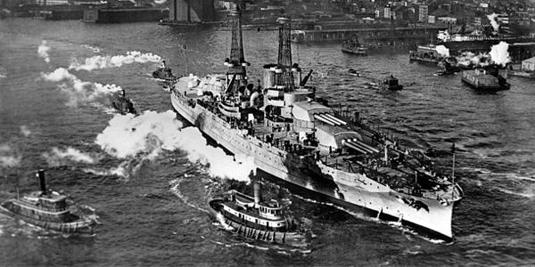 السفينة Battleship U.S.S. Arizona أشهر السفن