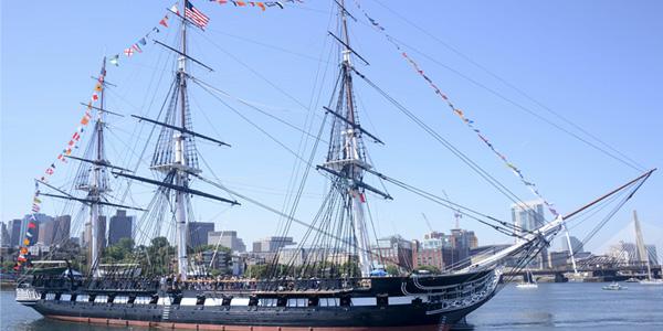 سفينة الدستور U.S.S. Constitution