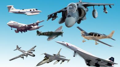 Photo of أشهر 10 طائرات في التاريخ