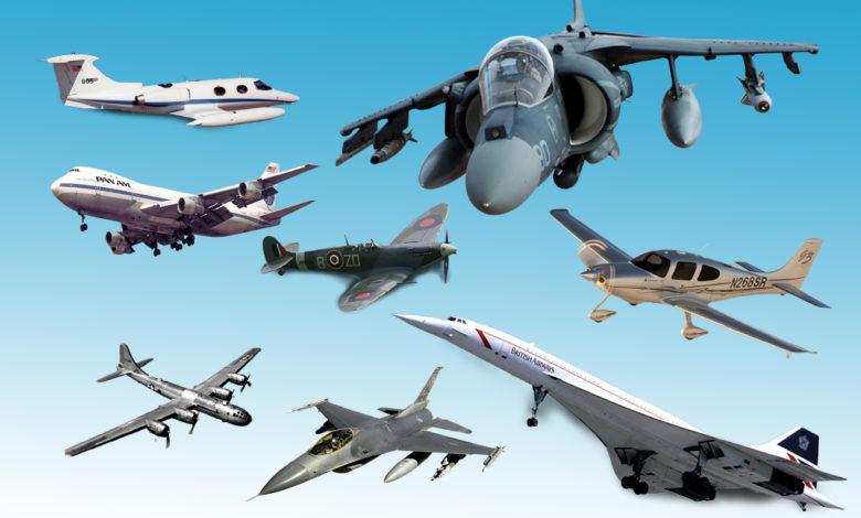 أشهر 10 طائرات في التاريخ
