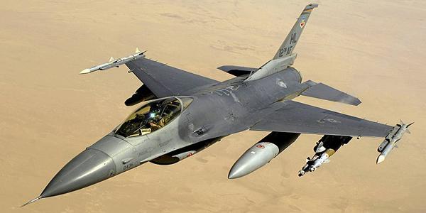 الطائرة - General Dynamics F-16