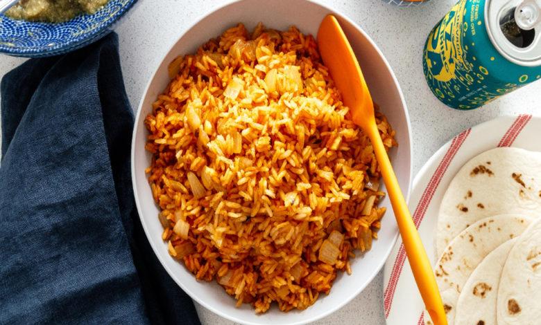 طريقة تحضير الأرز المكسيكي المقلي