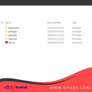 """تثبيت البرنامج من مجلد """"Adobe CS6"""""""