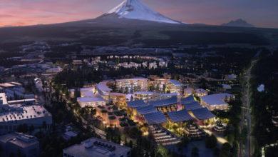 شركة تويوتا تبني مدينة المستقبل
