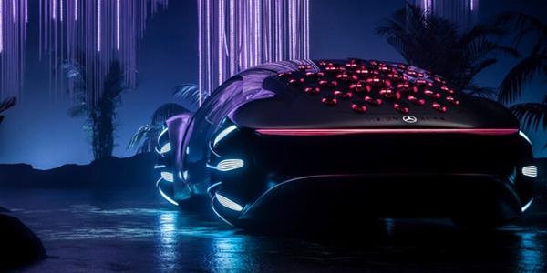 فكرة Mercedes-Benz AVTR