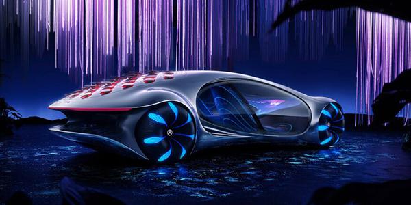 Mercedes-Benz AVTR مرسيدس بينز تقفز نحو المستقبل