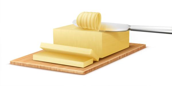 الزبدة الخاصة بصنع الكيك