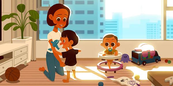 لغة الحب عند الأطفال وهل يشعر طفلك بحبك؟