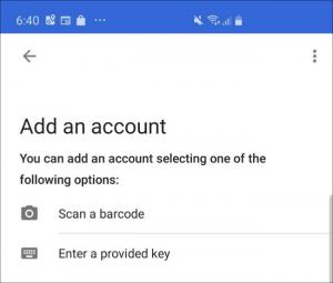 نقل تطبيق Google Authenticator