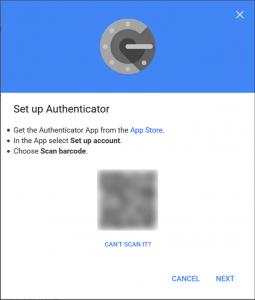 نقل تطبيق Google Authenticator إلى هاتفك الجديد1