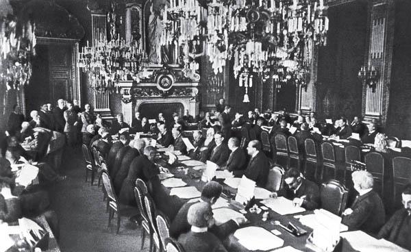 ما هي معاهدة فرساي