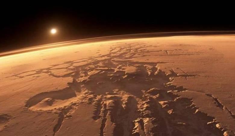 تغير ألوان سماء كوكب المريخ