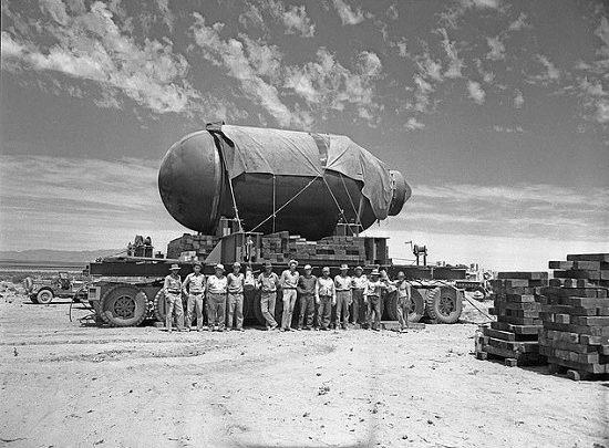 القنبلة الذرية ومشروع مانهاتن