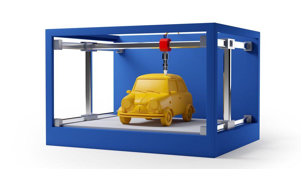 السيارات ثلاثية الأبعاد