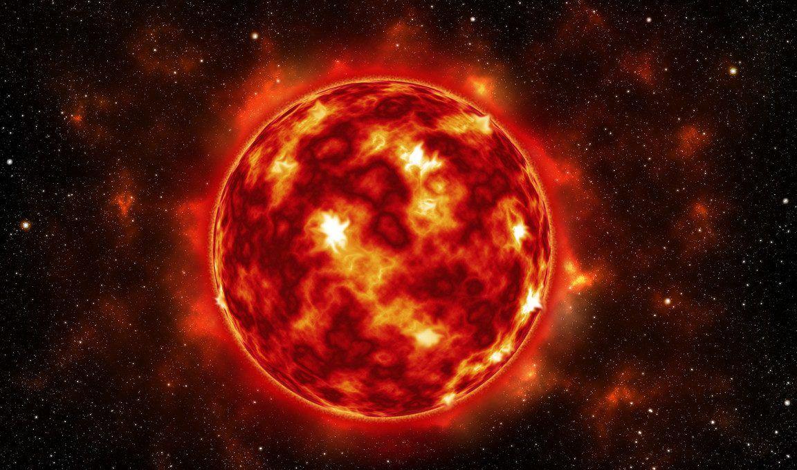 النجوم الحمراء