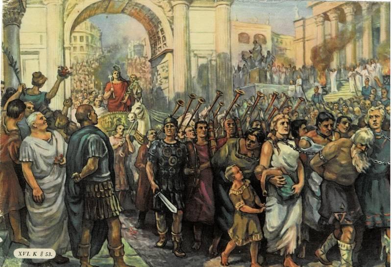 روما والبرابرة