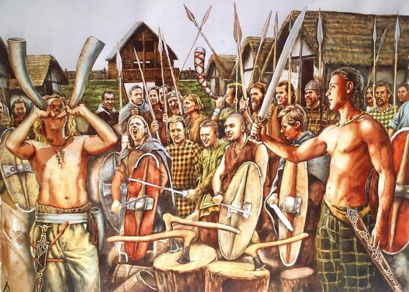 سكان أوروبا القدماء - قبائل السلت