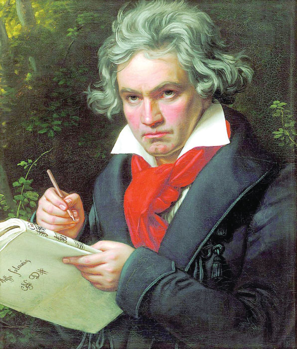 أشهر أعمال لودفيج فان بيتهوفن