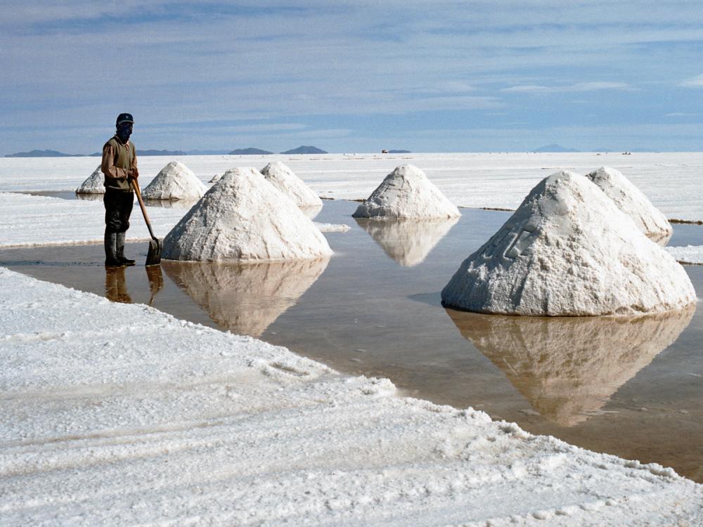 أماكن تواجد الملح العادي