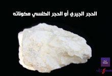 صورة الحجر الجيري أو الحجر الكلسي مكوناته