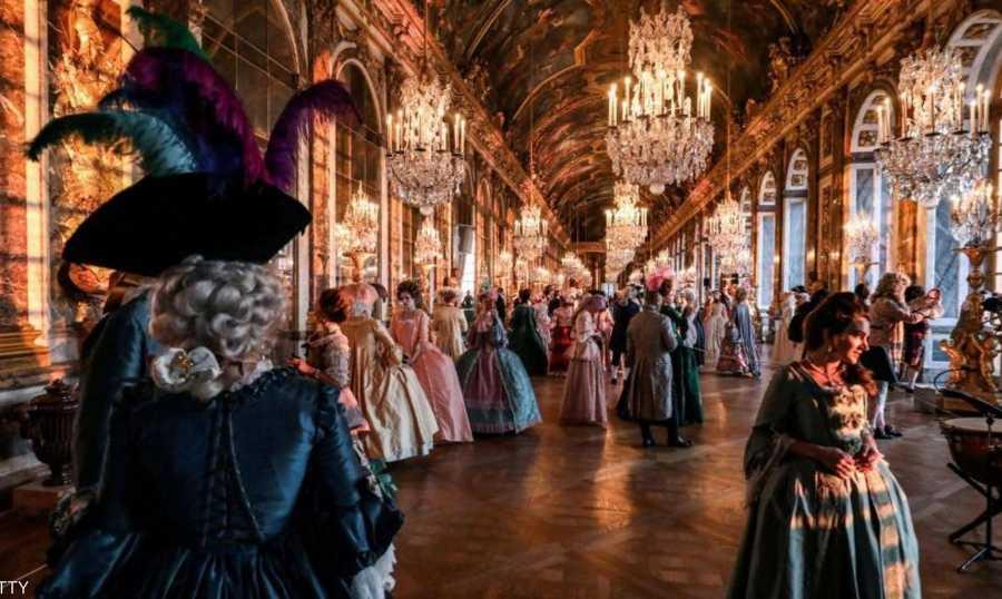 الحياة في قصر فرساي