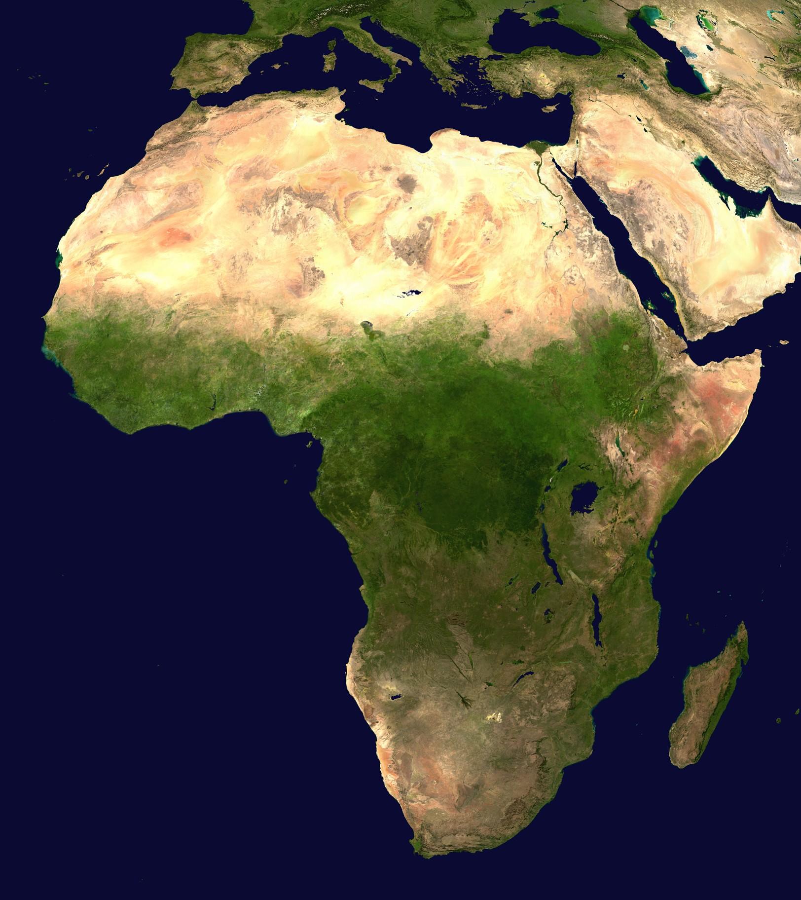 المناطق المناخية في أفريقيا