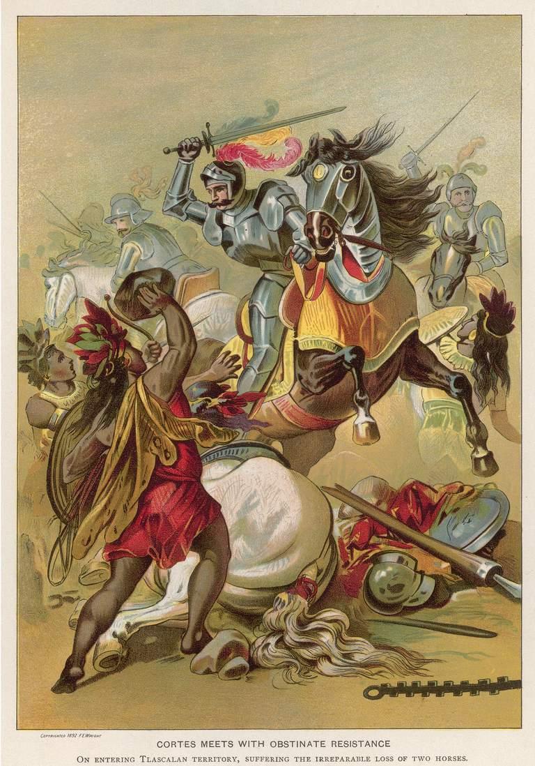 الهزيمة المؤقتة لـ هرنان كورتيز