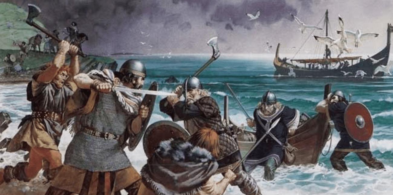 قبائل الفايكنج في إنجلترا