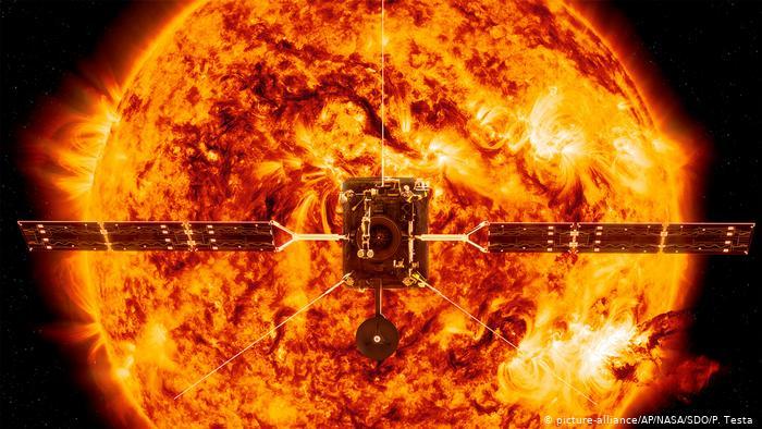 قياس أبعاد الشمس