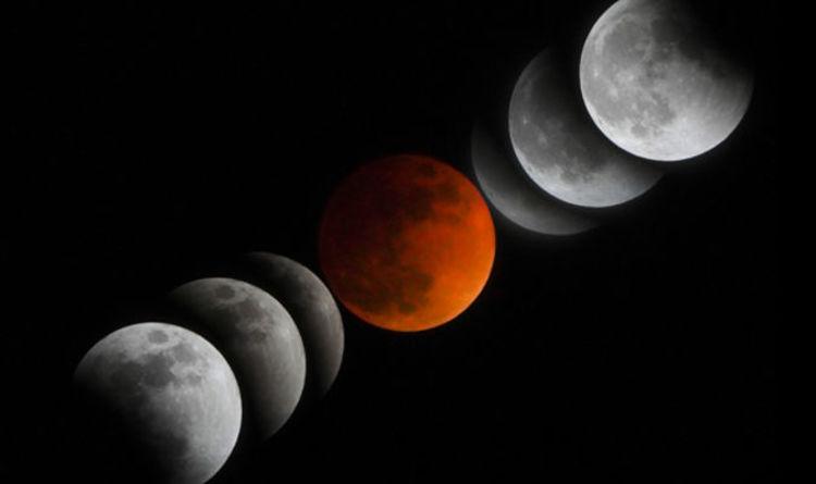 معلومات عن القمر The moon