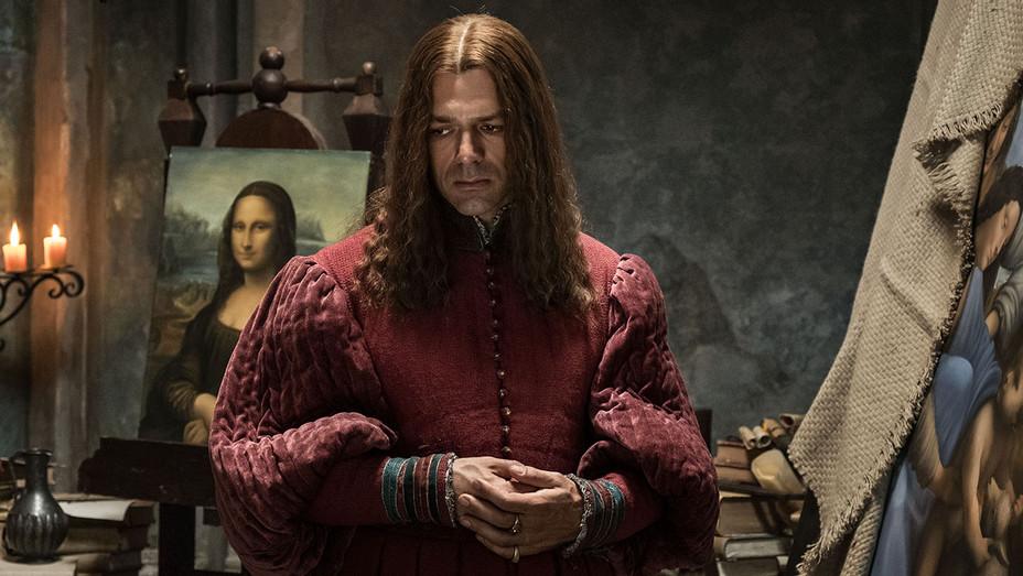 أعمال ليوناردو دافنشي في الرسم والهندسة