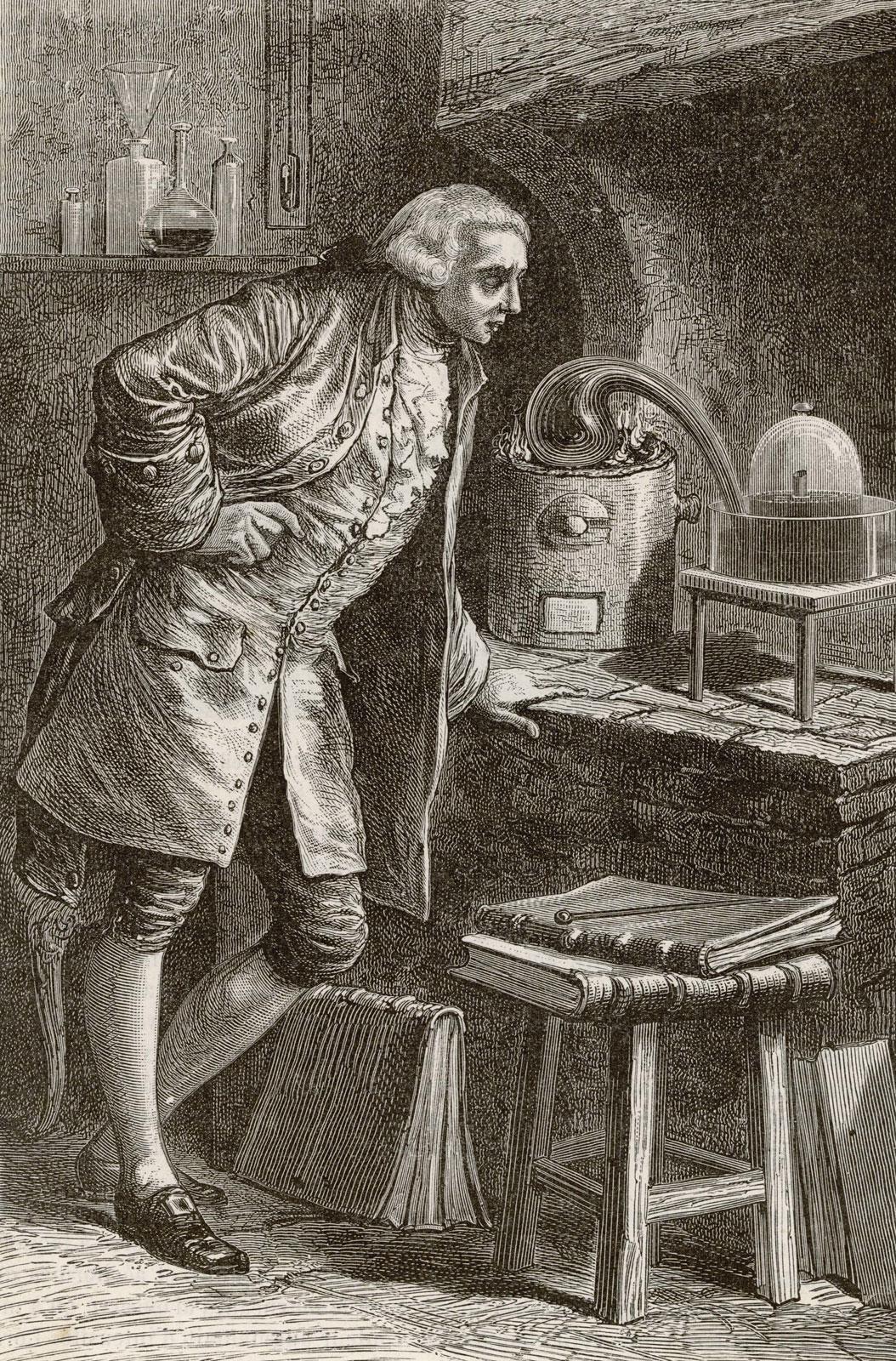 أنطوان لافوازييه محصل الضرائب والكيميائي