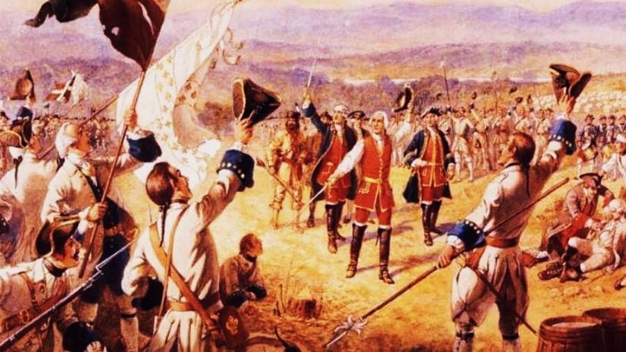 الحرب بين الفرنسيين والإنجليز