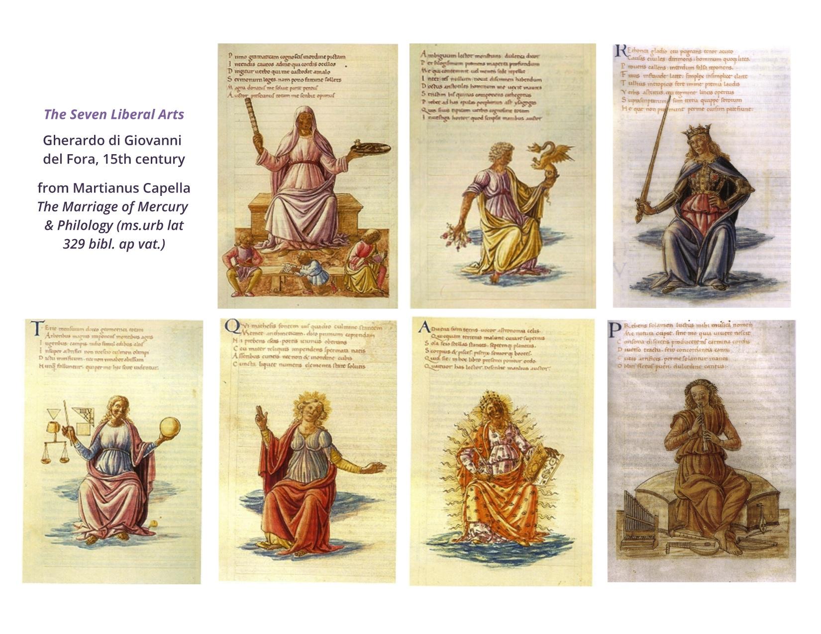 الحقبات التاريخية للفنون السبعة