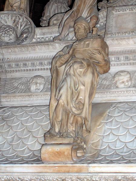 القديس بطرس من قبة القديس دومينيك (1501 - 1504) مايكل أنجلو
