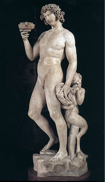 باخوس (1494 - 1495) مايكل أنجلو