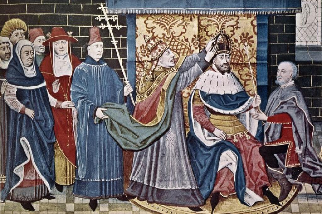 شارلمان ملك الفرنجة ونهاية الإمبراطورية