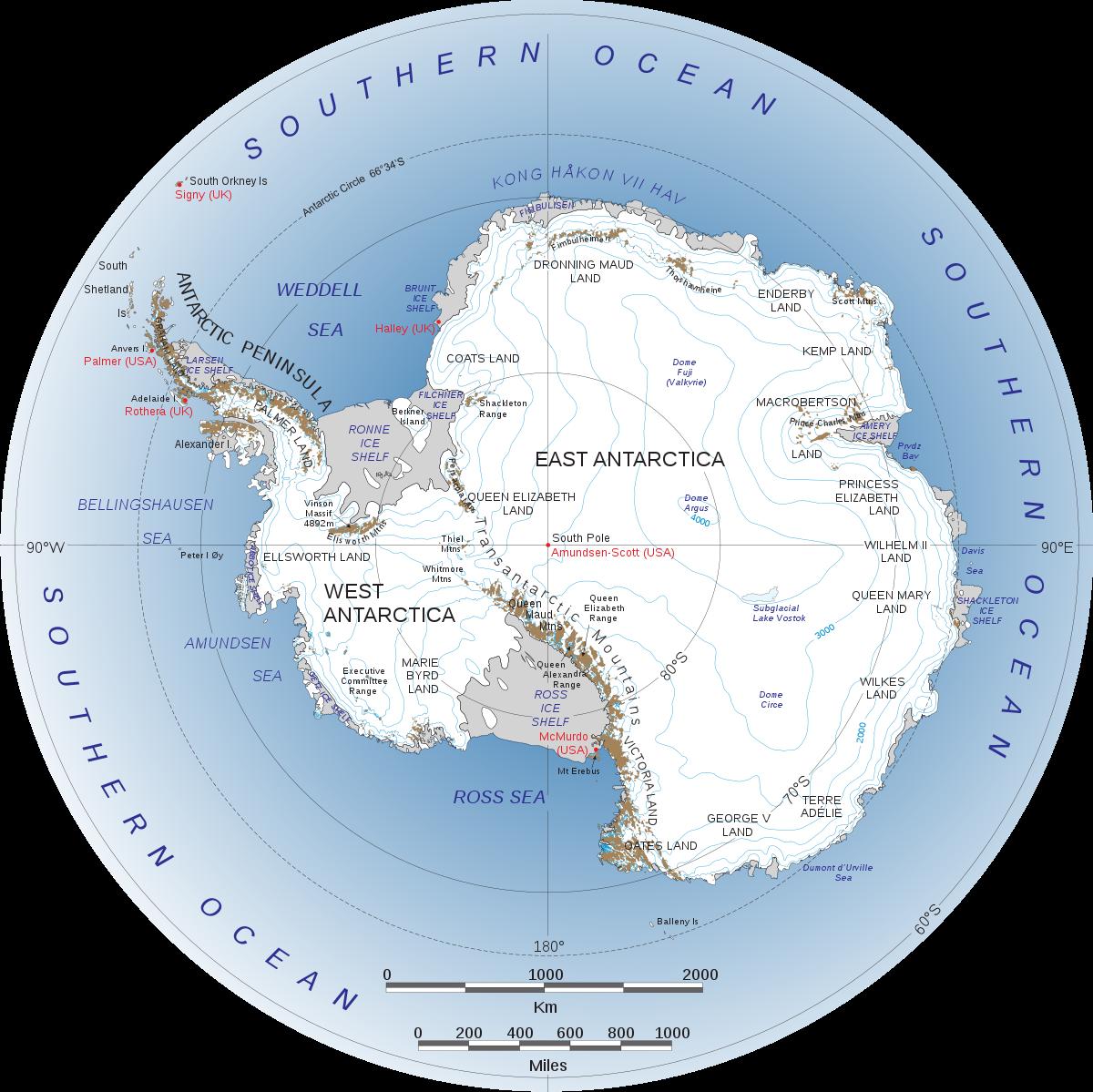 قارة أنتاركتيكا اليوم