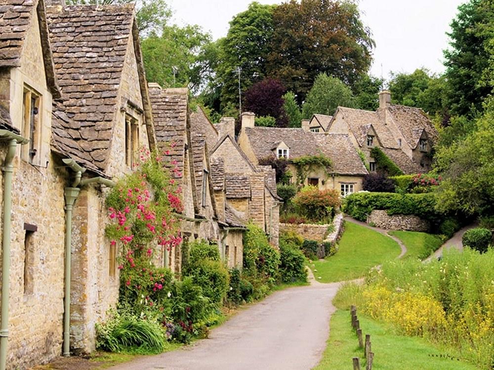 قرى المستنقعات في انجلترا