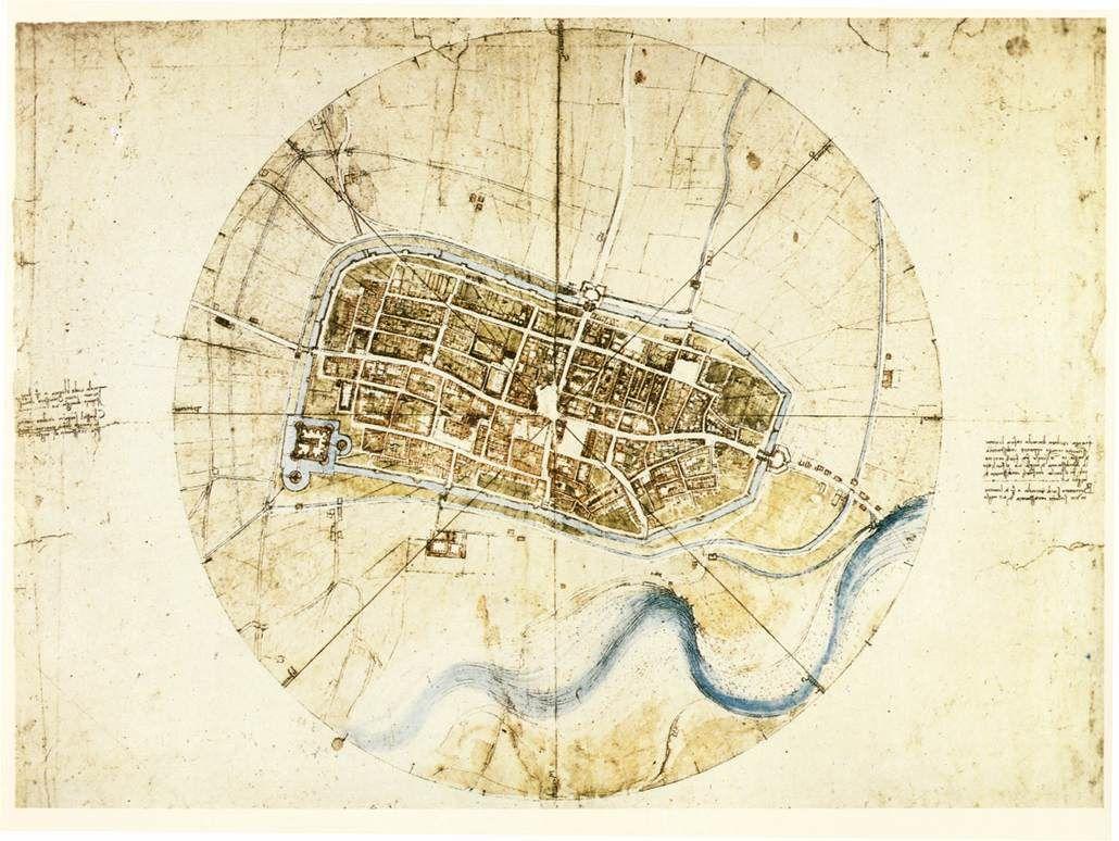 مخطط مدينة ميلانو