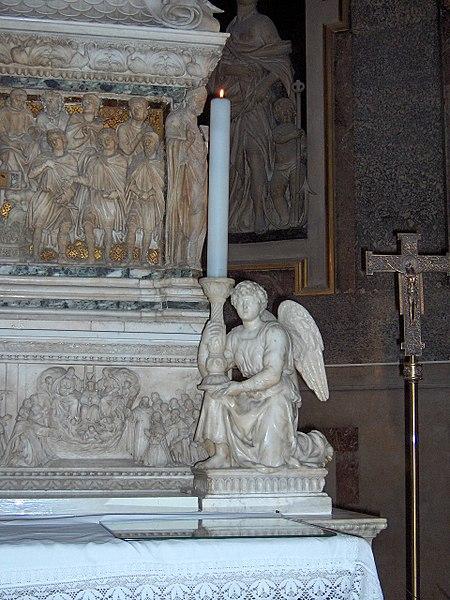 ملاك من قبة القديس دومينيك (1494–1495)