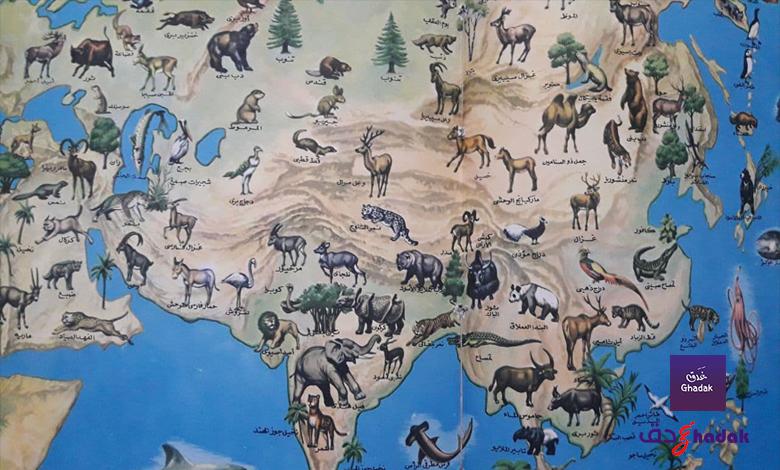 نباتات آسيا وحيواناتها