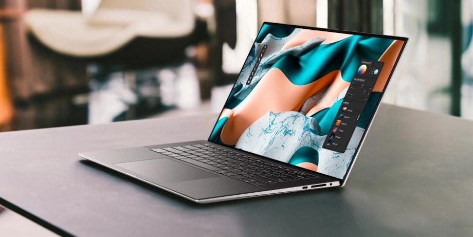 Dell XPS 15 (2021) أفضل كمبيوتر محمول 2021
