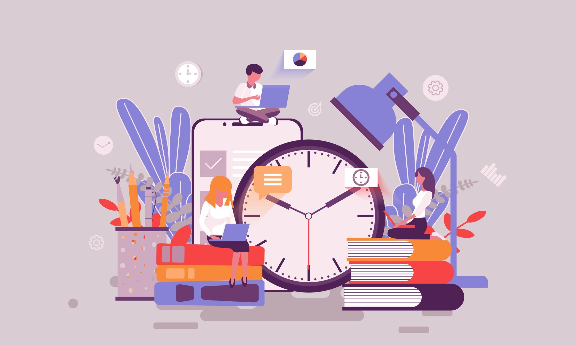 إدارة الوقت وخلط الأمور