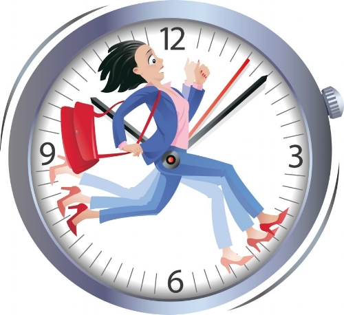 إضاعة الوقت - الأسباب