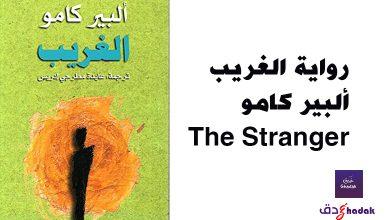 رواية الغريب ألبير كامو The Stranger
