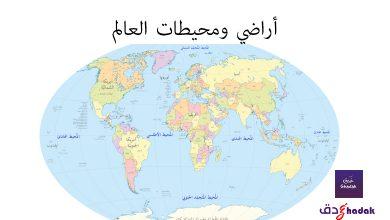 أراضي ومحيطات العالم