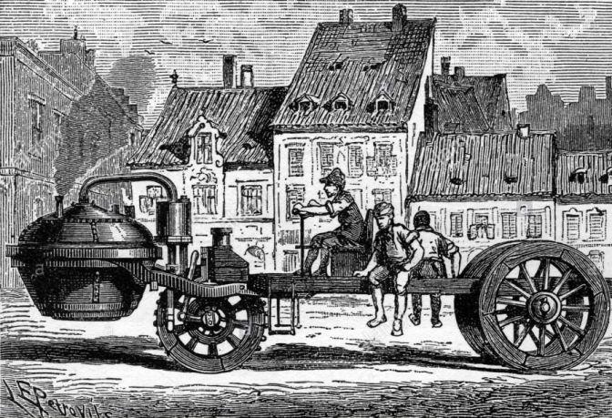بداية الثورة الصناعية في انجلترا البخارية