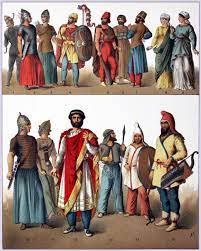 ملابس وأسلحة العرب المسلمين