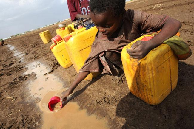 البحث عن المياه العذبة في افريقيا